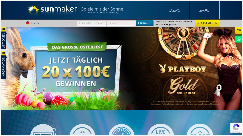 Sunmaker Casino Online