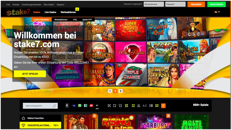 Stake7 Online Casino