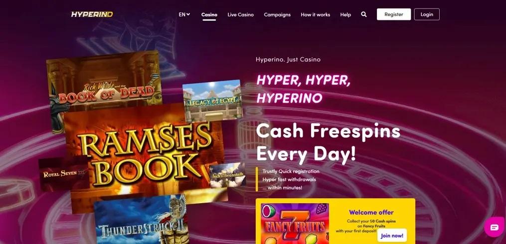 Hyperino Online Casino